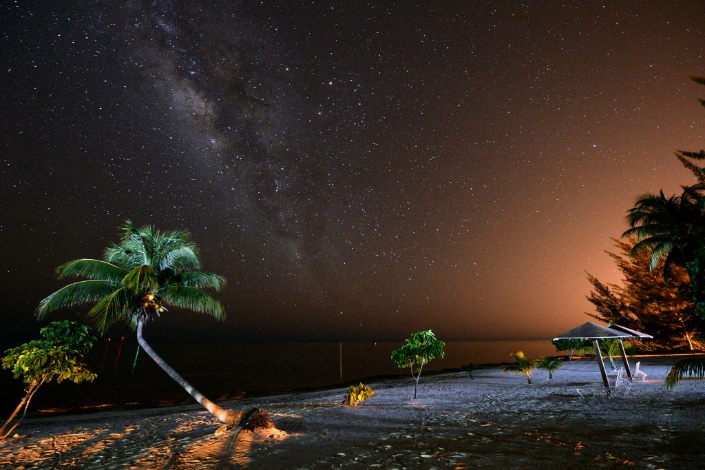 cayman night sky
